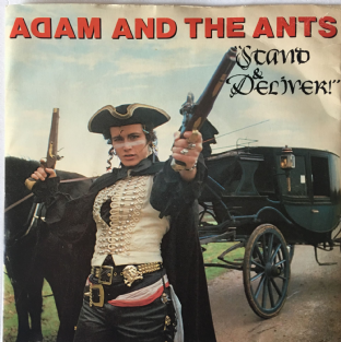 "Adam And The Ants - Stand & Deliver! (7"") (G++/G++)"